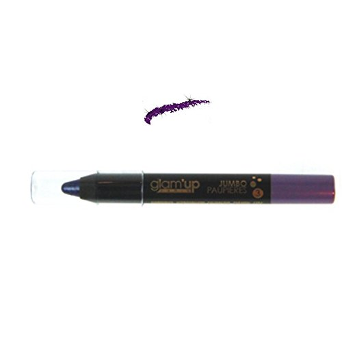 Glam'Up Maquillage Yeux Crayon Jumbo Pailleté Violet - Fabrication Européenne