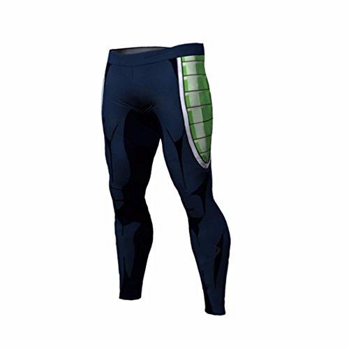 Men's 3D Dragon Ball Z Printed Trousers green