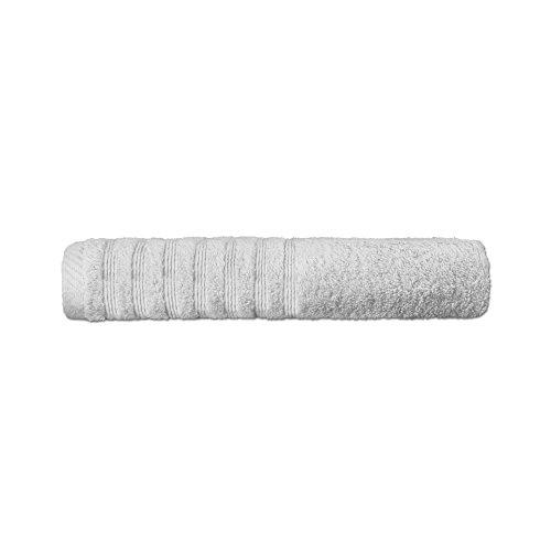 CelinaTex Flauschiges Duschtuch 16 Moderne Farben und viele Größen Badetuch 100% gekämmte Baumwolle Frottee Qualität, ca. 570g/qm 70 x 140 cm Serie Pisa 0002864 Silber-grau