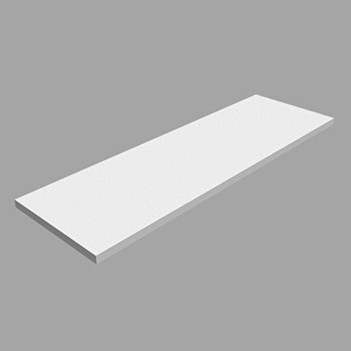 Regale Laminierte (Laminierte Regale, Regalboden, Regal, wandregal LSS Weiss 800x250)