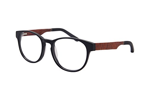 SHINU Progressive Multiple Fokus Lesebrille Multifokale Glaser Multifocal Computer Lesebrillen- ZF110 (matt black-red pear, up+0.50, down+2.00)