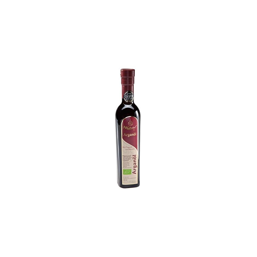 Argavital Premium Bio Arganl 250 Ml Aus Gersteten Samen Kaltgepresst Gourmet Kche