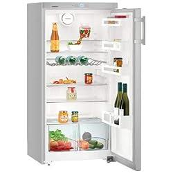Ksl2630 LIEBHERR Réfrigérateur 248L net, LxH : 60 x 125cm, A++, Silver [ Ksl 2630-20 ]
