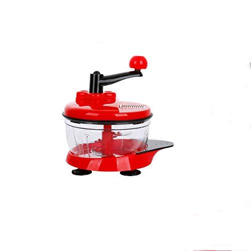 HZHHH Hand Nahrungsmittelzerhacker, Gemüse Schnell Chopper Manuelle Küchenmaschine, leicht zu reinigen Food Mixer Blender/Für Knoblauch // Salat/Salsa/Nuss/Fleisch/Obst