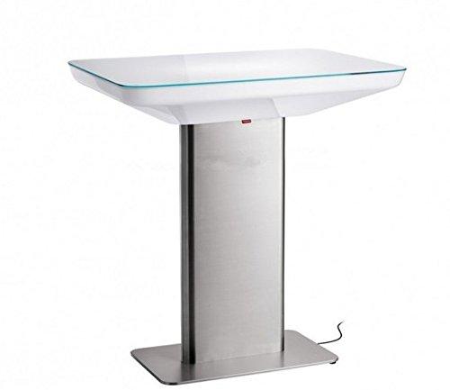 Gowe H76 LED Lumineux meubles Table de salle à manger pour 4 personnes, Studio LED, LED Table basse pour bar, salle de réunion, salon, ou les événements