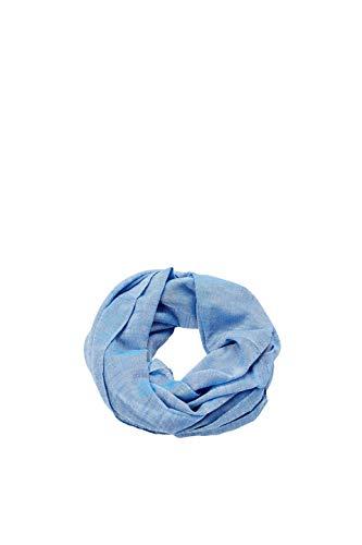 ESPRIT Accessoires Damen 999EA1Q801 Schal, Blau (Light Blue 440), One Size (Herstellergröße: 1SIZE) Light Blue Schal