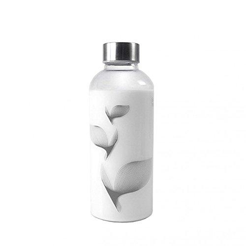 drinkitnow Trinkflasche Midi 0,6 Liter Flipper grau