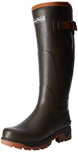 Grisport Goodyear Cascade Wellington, Stivali di Gomma da Lavoro Unisex-Adulto, Marrone (Brown 0), 47 EU