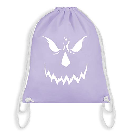 Halloween - Scary Smile Halloween Kostüm - Unisize - Pastell Lila - WM110 - Turnbeutel & Gym Bag