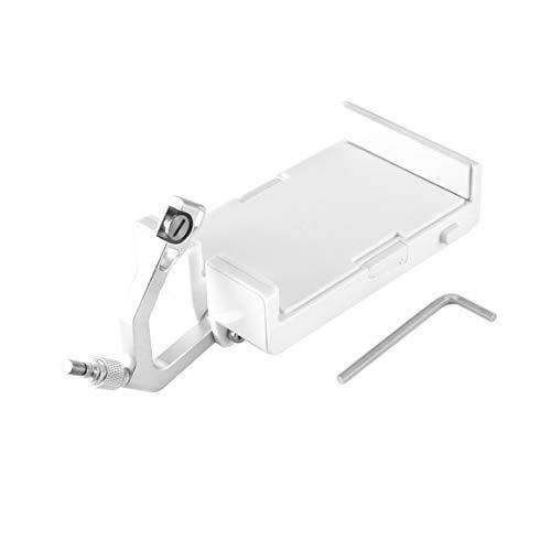 Garciadia Fernbedienung Handy Halterung Halter einstellbar für Poseidon-PRO RC Angeln Drohne Montagezubehör (Farbe: Weiß)