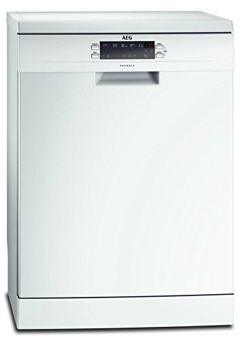 AEG FFB53600ZW Geschirrspüler (freistehend) / sparsame Spülmaschine der Energieklasse A+++ (234 kWh pro Jahr) / Geschirrspülmaschine mit...