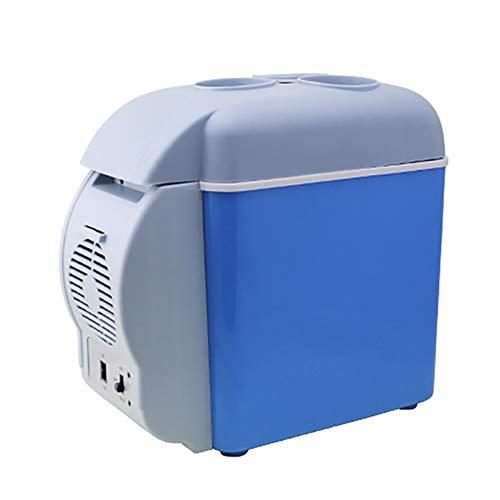Mini-Kühlschrank 7,5 L, 12 V Autokühlschrank, 3 Getränkehalter, Gekühlt/Isoliert -