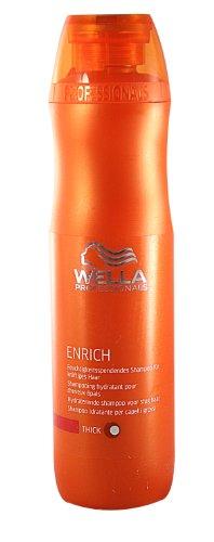 WELLA CARE Enrich Shampoo für kräftiges Haar 250ml (Shampoo Glanz Lebendige)