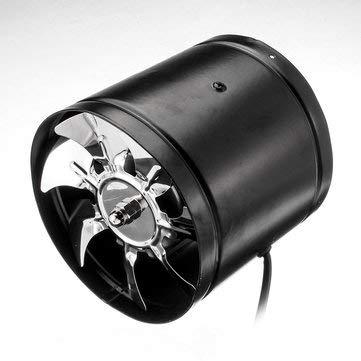 CCChaRLes 4 Zoll/6 Zoll Booster Fan Inline Duct Vent Gebläse Lüfter Lüfter Werkzeuge - 6 Zoll -