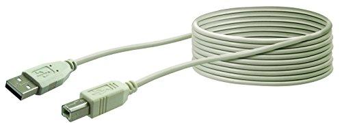Schwaiger CK1563 531 USB 2.0 Anschlusskabel für Drucker/Scanner/Externe Speichermedien (3m)