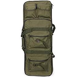 FMN-HUNTING, Etuis Souple pour Carabine, 81cm / 94cm / 118cm Étui à Fusil en Nylon à Haute densité Tactique Militaire Sac de Sport Souple Airsoft Holster Gun Bag Accessoires de Fusil de Chasse