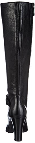 Geox - D Aliha, Stivali Donna Nero (BLACKC9999)