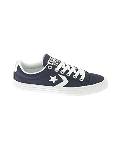 Calzature sportive bambino, colore Blu , marca CONVERSE, modello Calzature Sportive Bambino CONVERSE CHUCK TAYLOR STAR PLAYER 2V OXSTAR PLAYER EV OX Blu Athletic Navy White