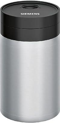 Siemens TZ80009N - Recipiente de leche para cafeteras automáticas (0,5 L)