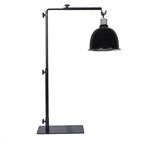 WUYANSE Reptile Lamp Stand Lamp Hanger Holder 3-teilige verstellbare Teleskop-Design Metall-Bodenständer Beauty Lamp Stand Heimtierbedarf, 15-36in Höhe