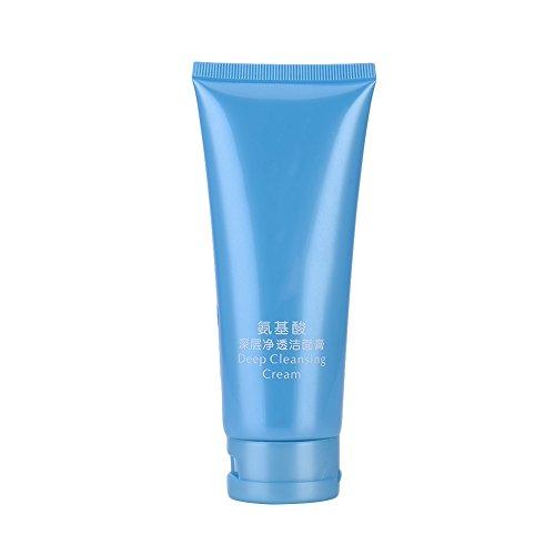 oshide Acide Aminés Lait Nettoyant Hydratant Crème nettoyante Deep Clean Shrink Pores Nettoyant Visage Hydratant (100ml)