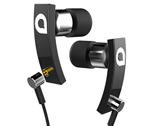 Accutone Pisces HD In Ear Headphones Earbuds with Mic Microphone volume  control Earphones Detailed Clarity Beryllium Speakers Detachable MMCX  Cables