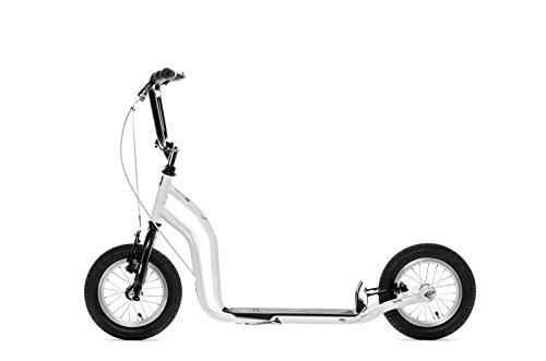 Yedoo Ox Monopattino - Scooter - New Model 2014 (Bianco - Nero)