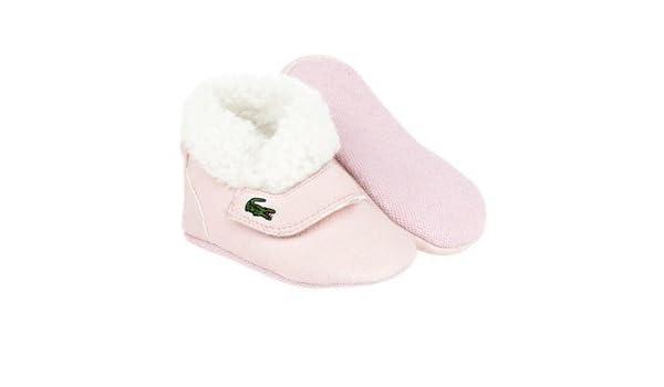 fa5fc9108d Lacoste Sneakers, Chaussures Souples pour bébé (Fille) - Rose - Rose, 16  EU: Amazon.fr: Chaussures et Sacs