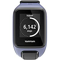 TomTom Spark GPS Multi-Sport Fitness Watch with Music, Small Strap - Purple Haze