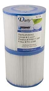 Spa Filter C-4401, PRB17.5SF PR, SC726 (Pair)