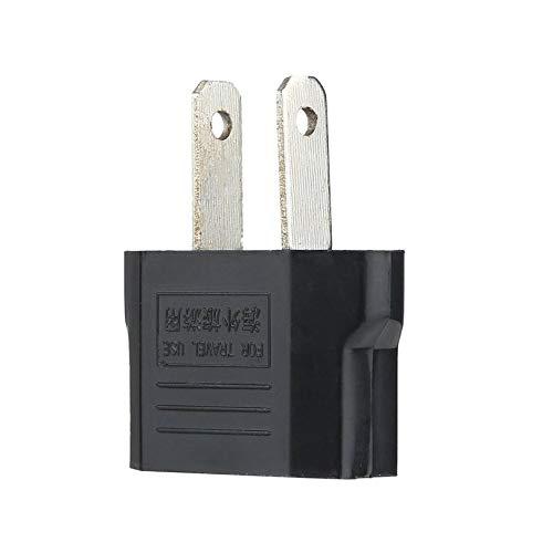 Adapter Für Weihnachtsbeleuchtung.Universal Eu To Us Ac Power Plug Adapter Adaptor Travel Converter Black Travel Wall Power Charger Converter