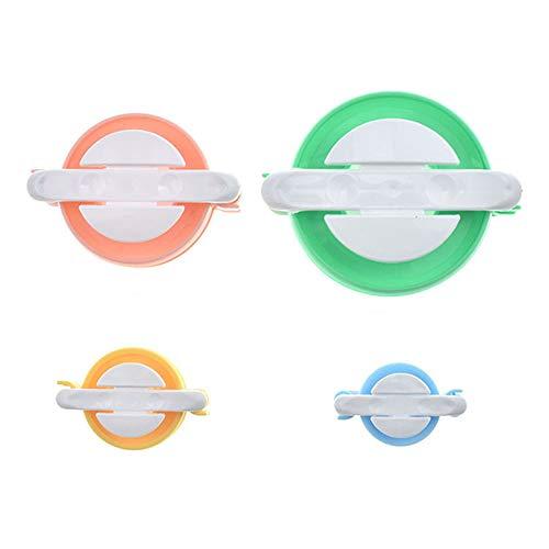 Goodplan 4 Größen von Fluff Ball Maker Pom Pom Weaver DIY Stricken Handwerk Werkzeug Kit Weben Werkzeug 4 Stücke - Kit Maker Pom-pom
