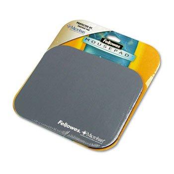 Fellowes Microban Maus Pad-0,3x 22,9x 20,3cm-Graphit-Polyester, Gummi-5934001 -