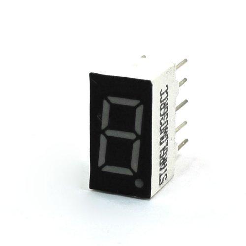 Display pantalla led 7 segmentos 1 dígito digital rojo Arduino electrónica DIY