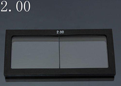 AdvancedShop 11.0bis 3.0Dioptrie Schweißhelm Maske Glas Lupe 11X 5,5cm, 2 -