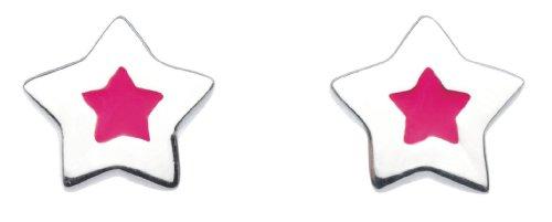 Imagen principal de Dew 38161PK006 - Pendientes de niño de plata