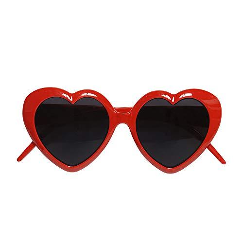 Widmann 6634L Herzbrille, Rot, Einheitsgröße