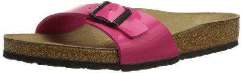 BIRKENSTOCK Madrid Bflor, Damen Sandalen, Pink (Pink Patent), 36 EU