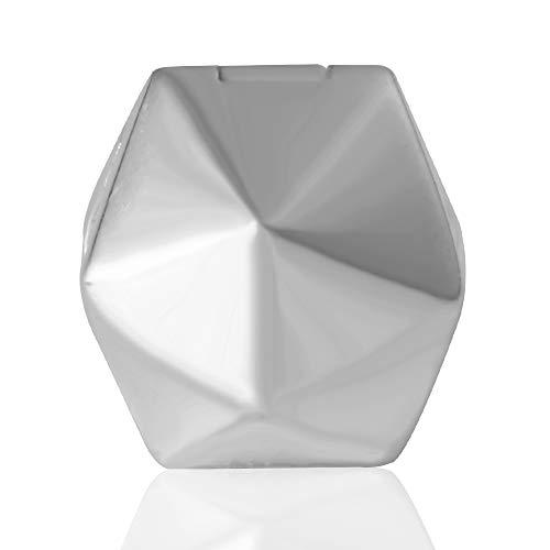 Rund Clip Stopper-Charms Echt 925 Sterling Silber Clips Pfropfen passend für Europäische Charms Armband (Erweiterbare Armbänder Mit Charms)