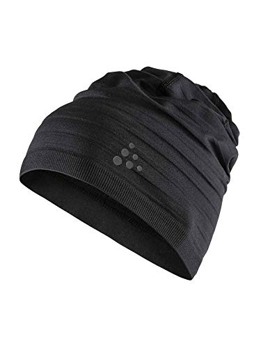 Craft WARM Comfort HAT Mützen, Black, One Size