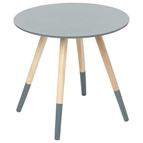 Table basse design moderne - Idéale pour toute pièce de la maison - Coloris GRIS Foncé