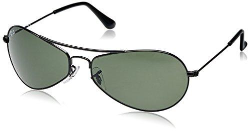 Ray-Ban Aviator Sunglasses (Black) (0RB3306I00260)