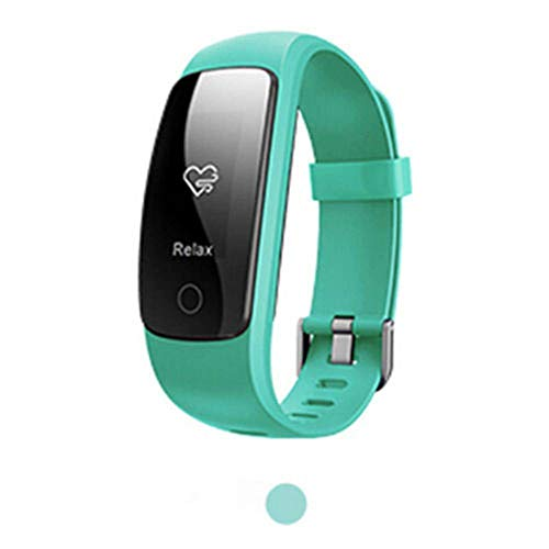LWPCP Smart Watch ID107 Plus Bracciale Cardiofrequenzimetro Per Android Ios,Green