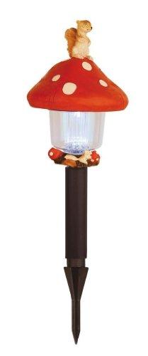 Best Season 477-39 Lampe solaire de jardin LED Motif champignon 47 x 16 cm
