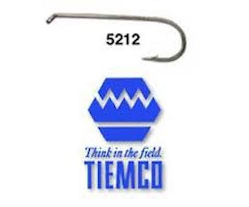 Umpqua TIEMCO TMC 5212Fliegenbinden Haken, Bronze, 16 -