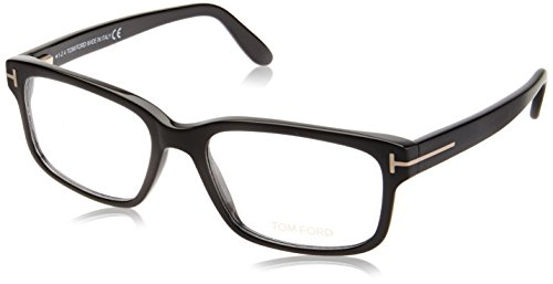Tom Ford Herren FT5313 002 55 Brillengestelle, Schwarz (NERO OPACO),