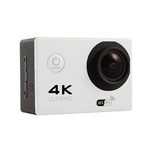 nuiko 4K HD Action Kamera, WiFi Full HD 1080P im Wasserdichte Außenkamera, Foto-DVR mit Fernbedienung Unterwasser Kleinbildkameras und Gratis Zubehör