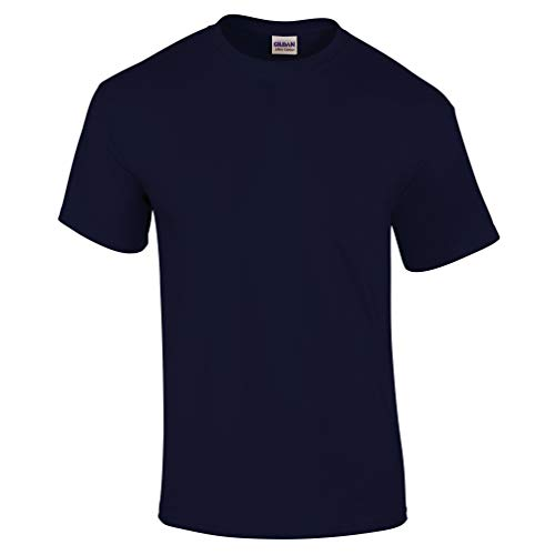 Ultra Cotton Classic Fit Adult T-Shirt - Farbe: Navy - Größe: XXL - Logo Kids Ringer T-shirt