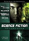 SPLIT SECOND * MILLENIUM * INVASION AUS DEM INNEREN DER ERDE * CYBER TRACKER 1+2 * Science Fiction Collection DVD