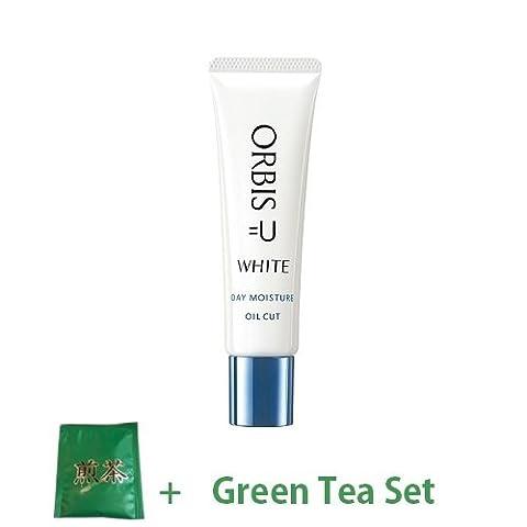 Orbis U White Day Moisture (Aging Care Whitening Daytime Moisturizer) 30g SPF30 PA+++ (Green Tea Set)